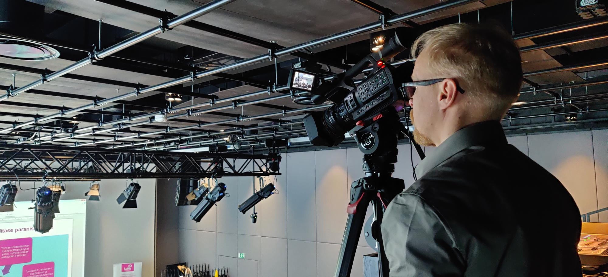 Reinforcing Unigrafia's streaming team – Ari Hiekkataipale is the latest recruitment to contribute to the AV Specialists team